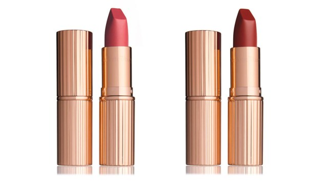 charlotte tilbury matte revolution lipsticks amazing grace and walk of shame (Charlotte Tilbury/PA)