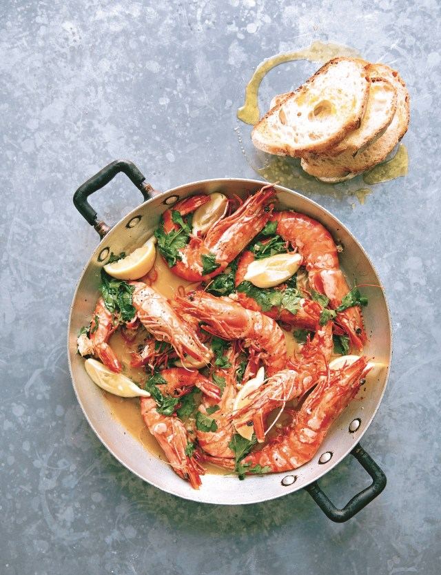 Recipe for king prawns and crab from Gennaro's Passione (Kim Lightbody/Pavilion/PA)