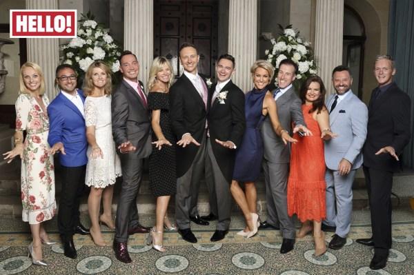 Strictly Dancing Stars Unite Ian Waite' Wedding