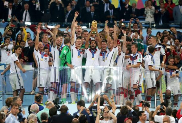 Germany lifted the World Cup in 2014 (Nick Potts/EMPICS)