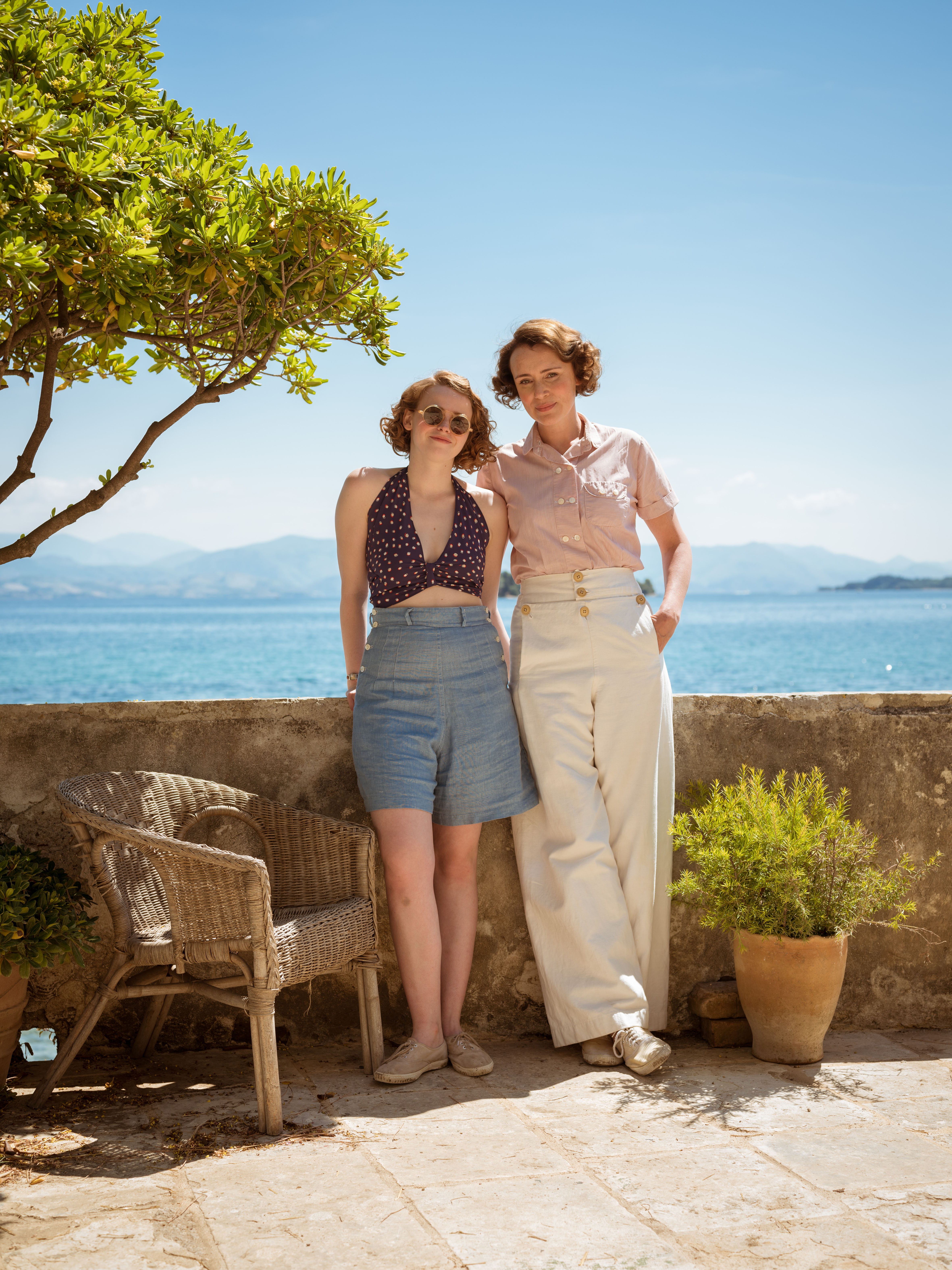 The Durrells' Keeley Hawes We Get Recognised On Corfu Now