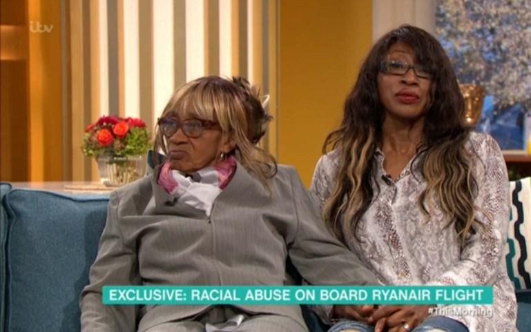 Mrs Gayle erschien mit ihrer Tochter Carol auf ITVs This Morning