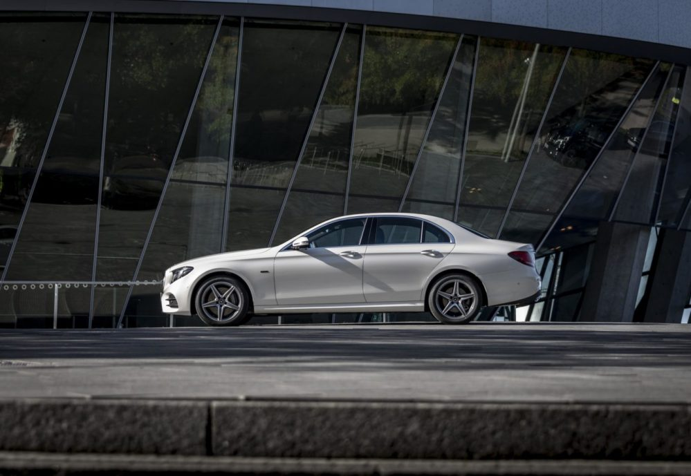 medium resolution of badged e 300 de the frugal new hybrid is available as either a saloon or