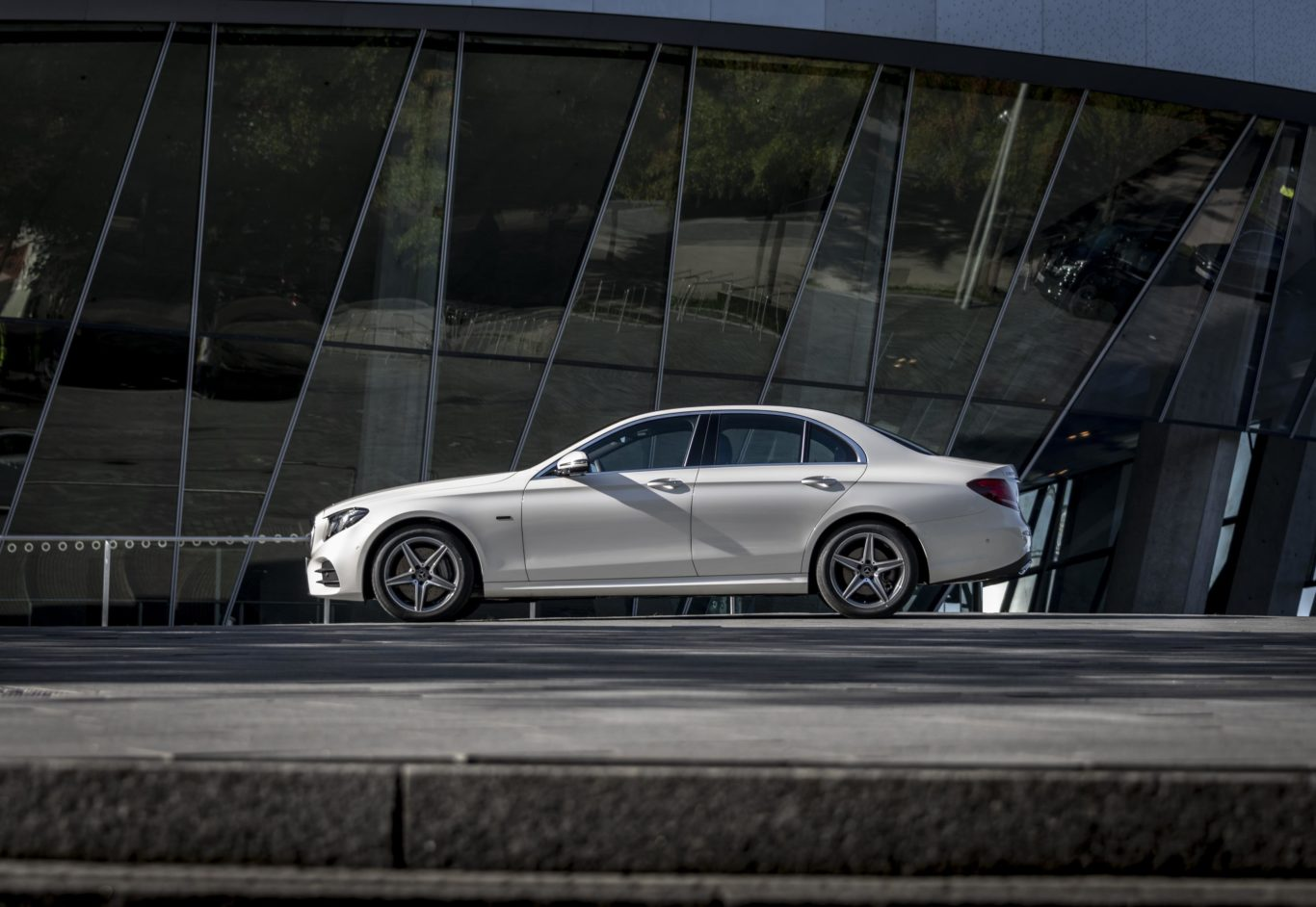 hight resolution of badged e 300 de the frugal new hybrid is available as either a saloon or