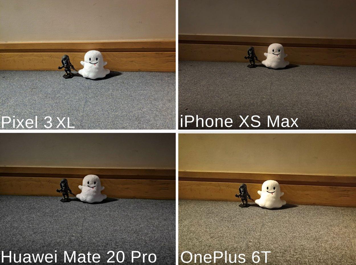 Comparison of photos