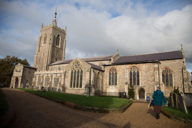 Aylsham Parish Church in Norfolk. (Mentimeter/ PA)