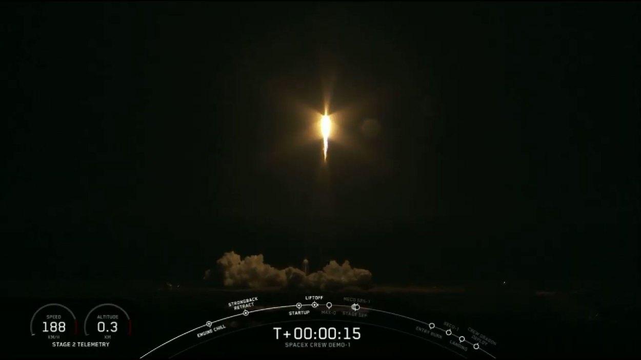 SpaceX's Falcon 9 and Crew Dragon