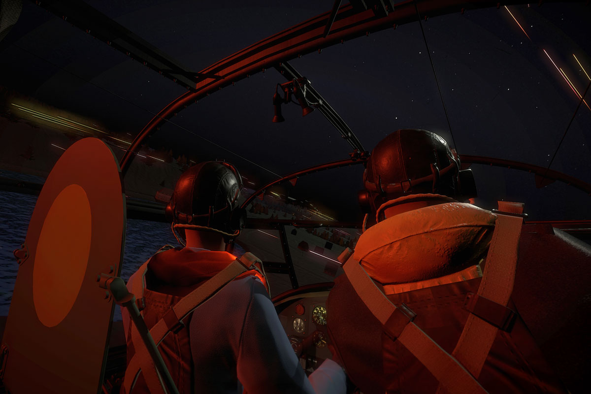 Dambuster VR experience