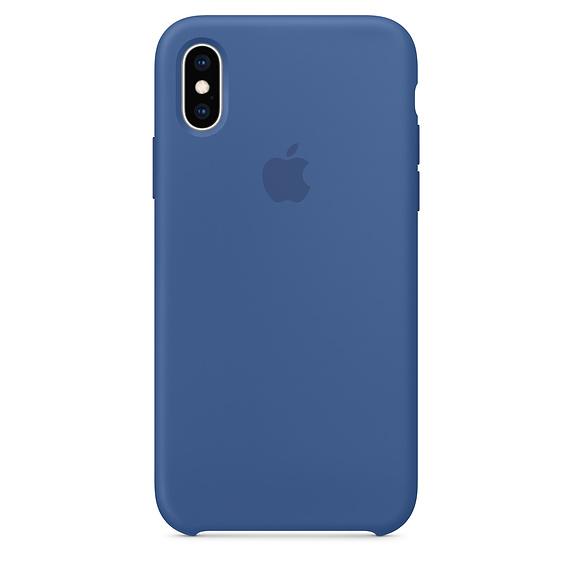 Delft Blue iPhone XS Silicone Case