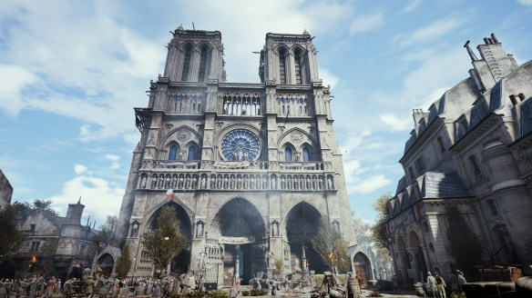Notre-Dame Cathedral in Assassin's Creed Unity