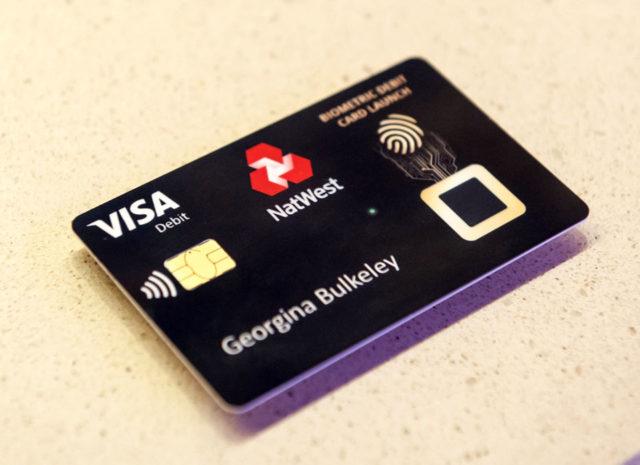 Biometric card
