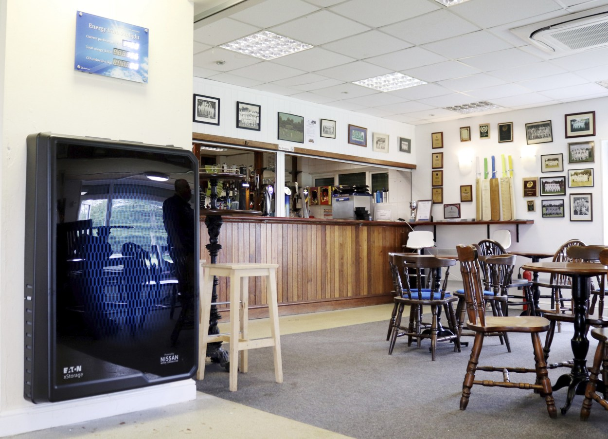 Nissan installs sustainable power at community cricket club