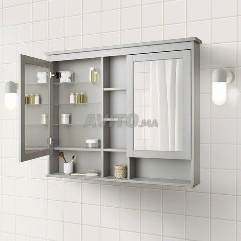 Meuble Rangement A Miroir Salle De Bain Neuf Ikea Meubles Et Decoration A Rabat Avito Ma 43308672