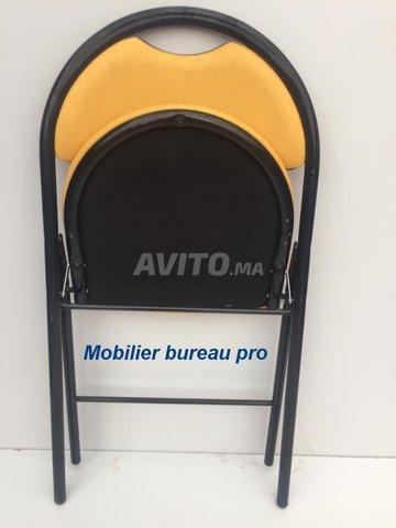 chaise pliante accueil pro coloris jaune france