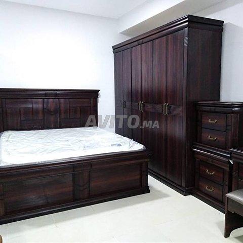 chambre a coucher en bois massif