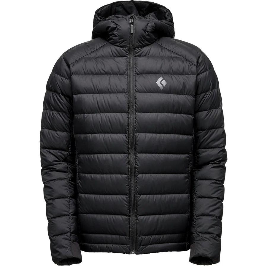 Black Diamond Cold Forge Hooded Down Jacket  Mens  Backcountrycom