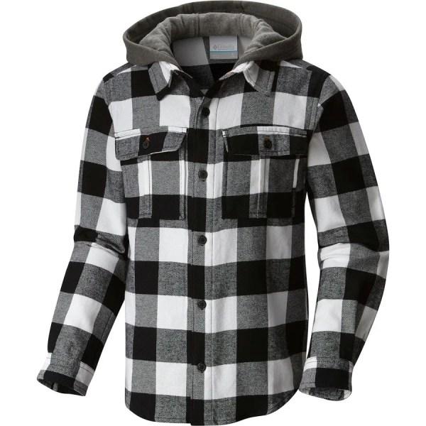 Columbia Boulder Ridge Flannel Hooded Shirt - Long-sleeve Boys'