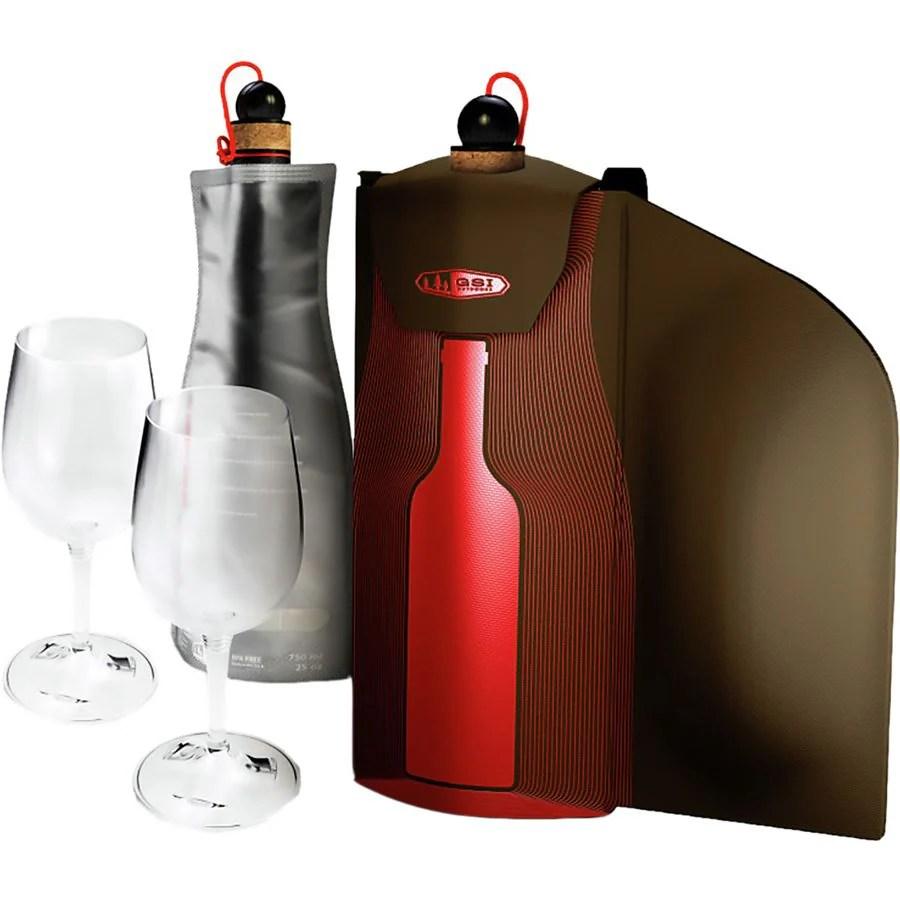GSI Outdoors Wine Glass Gift Set  Backcountrycom