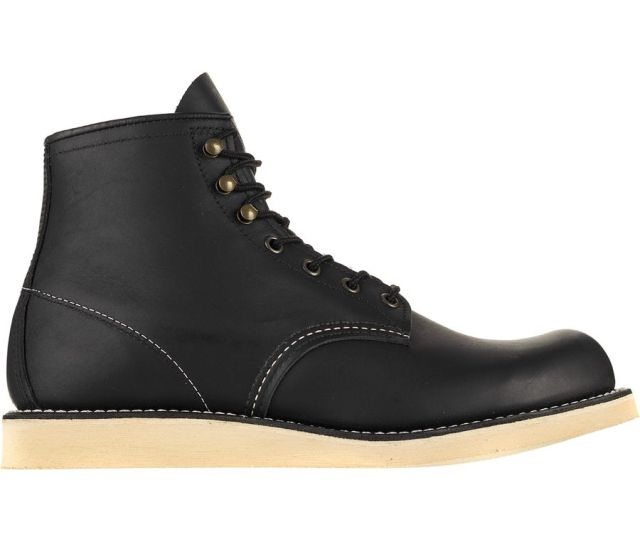Red Wing Heritage Rover Boot Mens Black Harness Leather