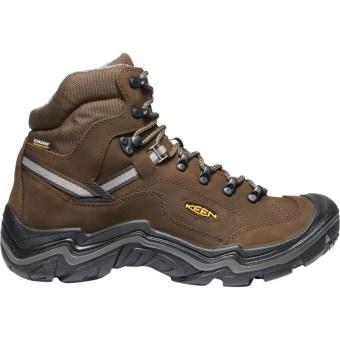 KEEN - Durand II Mid Waterproof Hiking Boot - Wide - Men's - Cascade Brown/Gargoyle