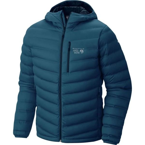 Mountain Hardwear StretchDown Hooded Jacket - Men's ...