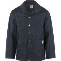 Pointer Brand Indigo Denim Shawl Collar Jacket - Men's ...