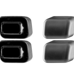 thule load bar end caps 4 pack one color [ 900 x 900 Pixel ]