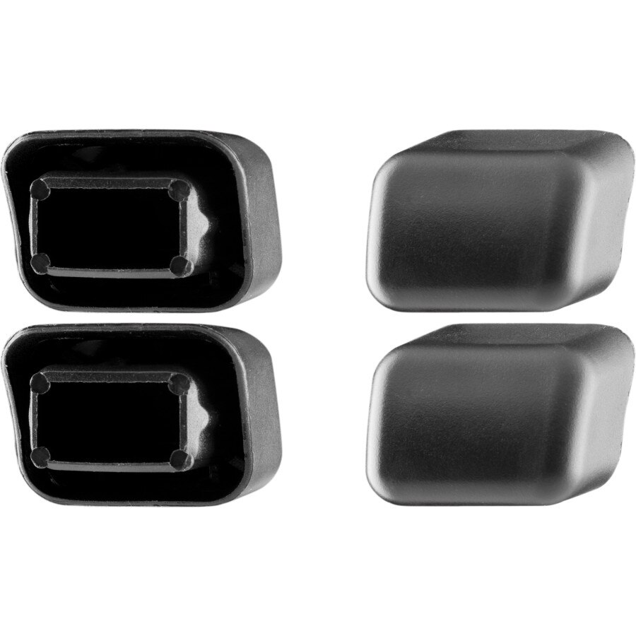 hight resolution of thule load bar end caps 4 pack one color