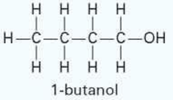 Does a mixture of water (1) and 1-butanol (2) form a
