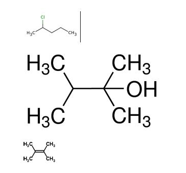 Draw chiral molecules that meet the following descriptions