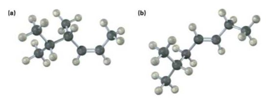 Name the following alkenes, including a cis or trans