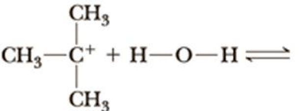 Complete the equation for the reaction between each Lewis