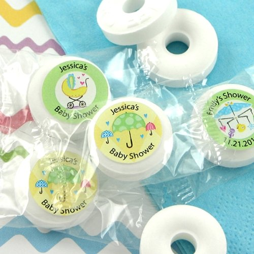 Personalized Baby Shower Life Savers