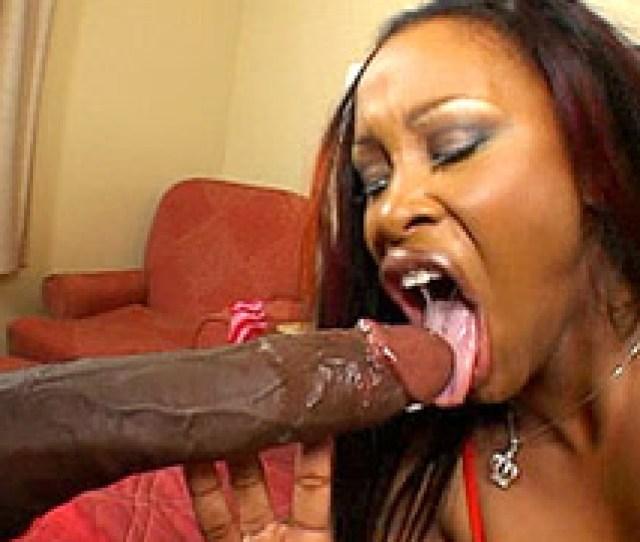 Busty Ebony Bitch Gives Blowjob To Mandingos Long Black Cock And Fucking