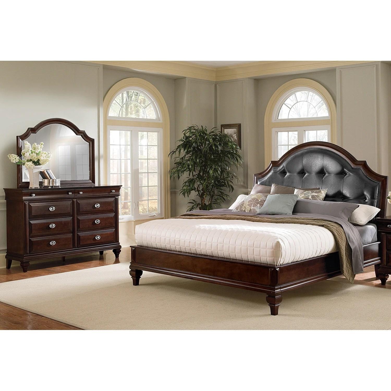 Manhattan King Bed  Value City Furniture