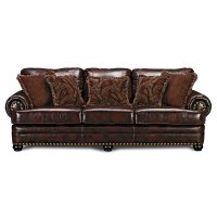 Westover Leather Sofa - Value City Furniture