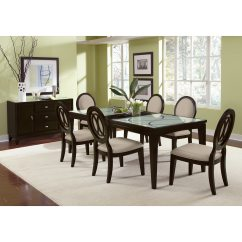 Value City Dining Table And Chairs Diy Room Chair Covers Cosmo 7 Pc Furniture