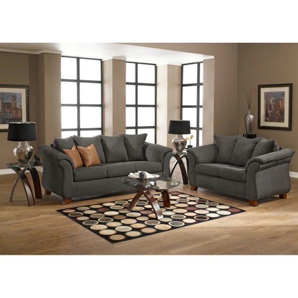 Adrian Sofa - Graphite American Signature Furniture