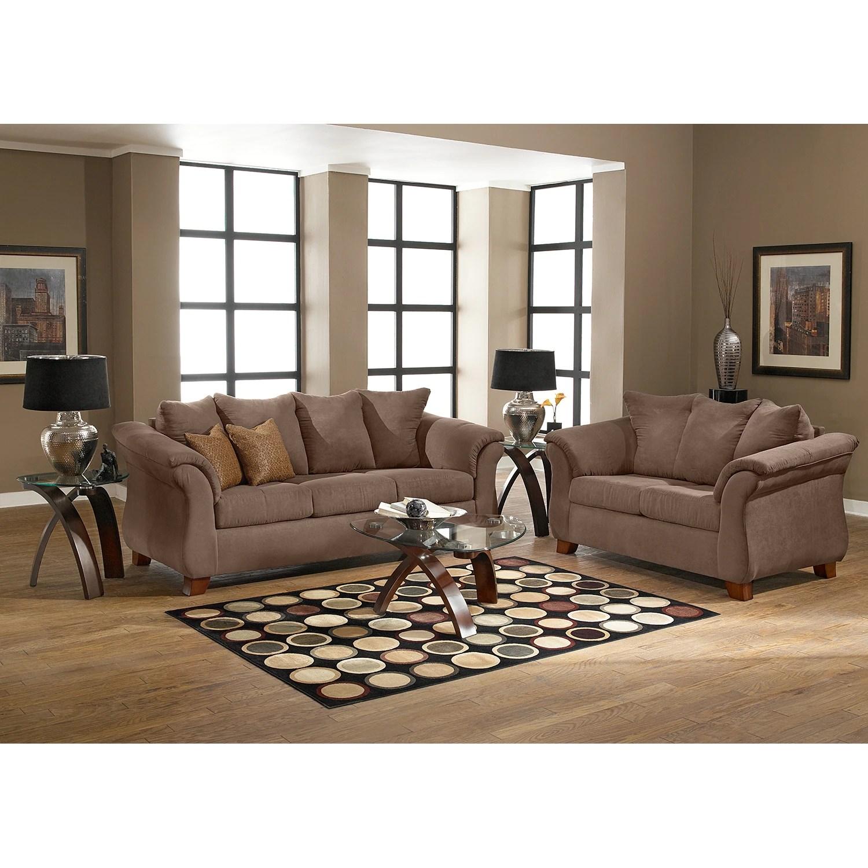 Adrian Sofa  Taupe  Value City Furniture