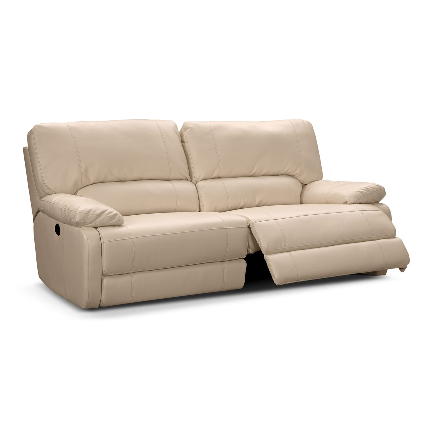 leather sectional sofas with power recliners marshmallow children s flip open sofa coronado reclining value city furniture