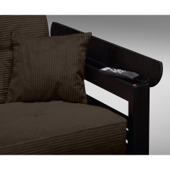 Tampa Futon Sofa Bed Corner Next Day Delivery Brown Value City Furniture