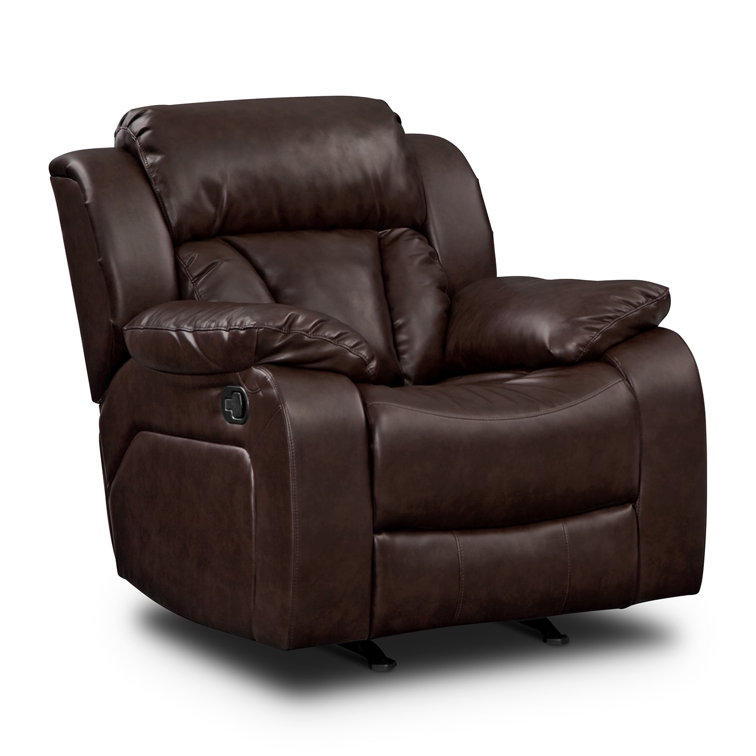 leather recliner chairs on sale crown royal chair rocker