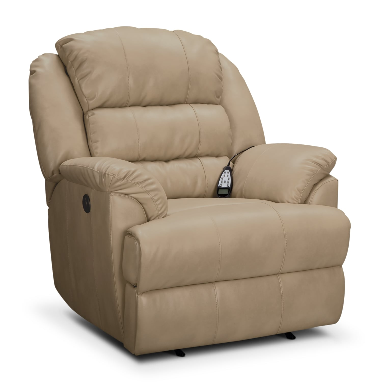 Power Reclining Chairs Hunter Leather Power Recliner Value City Furniture