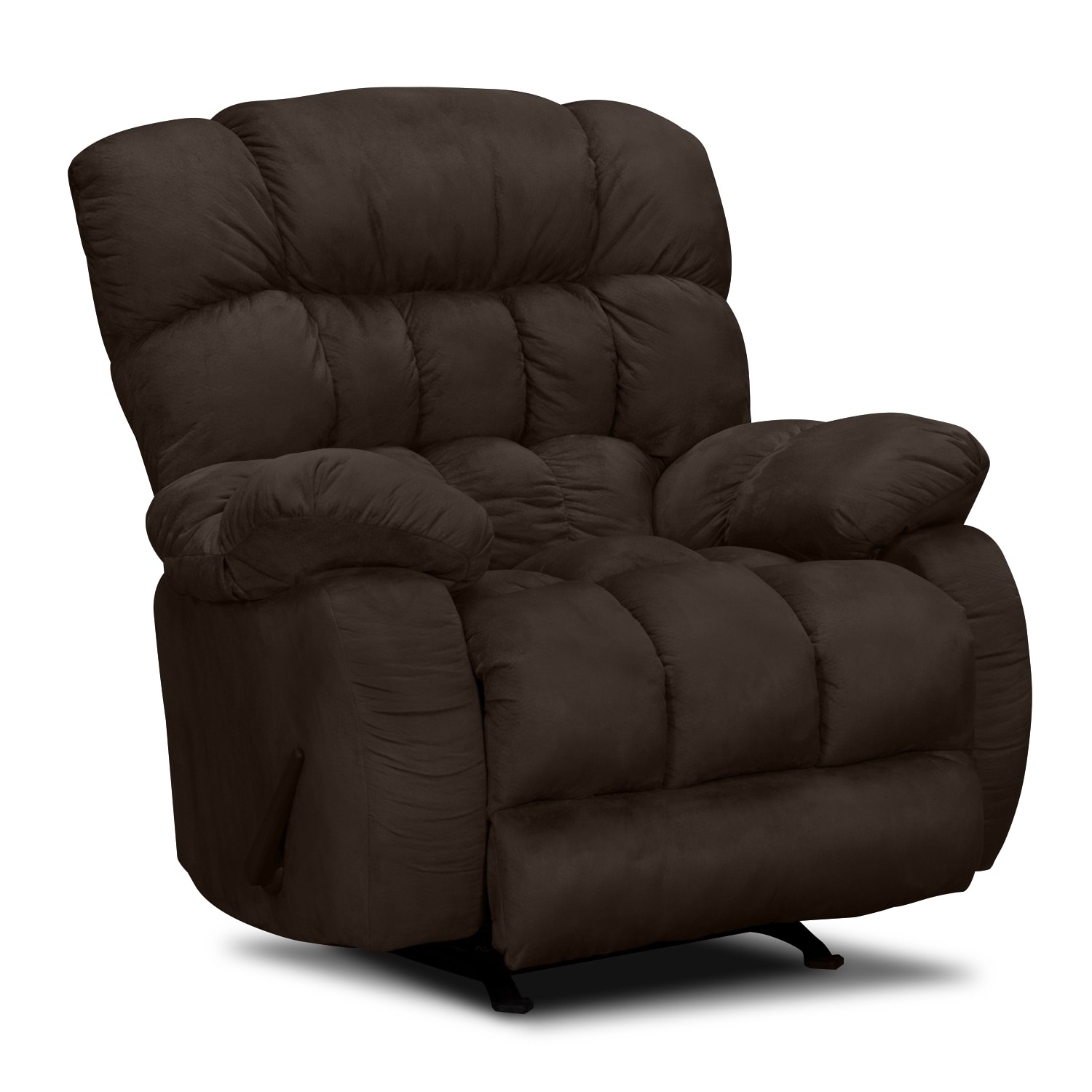 reclining chairs for sale mesh office chair support sonic rocker recliner value city furniture