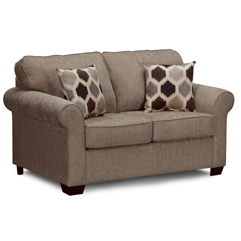 twin sleeper sofa chair best built beds fletcher upholstery value city furniture