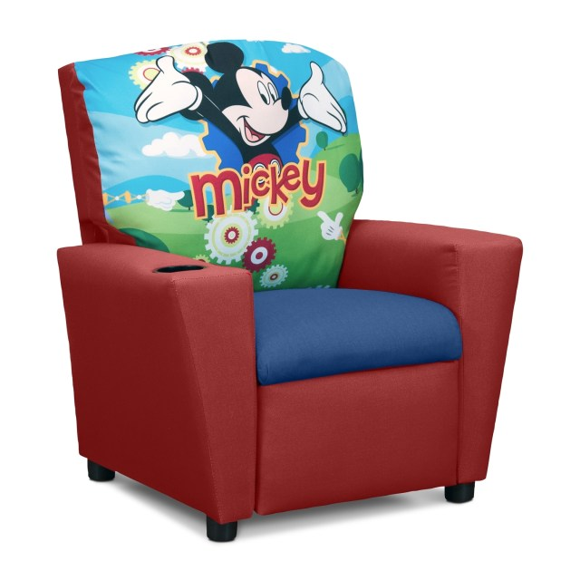 Mickey Chair 1710g disney mickey mouse chairs ottoman lot 1710g