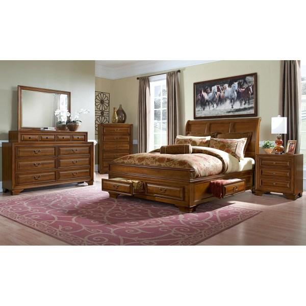 Sanibelle King Storage Bed - Pine City Furniture