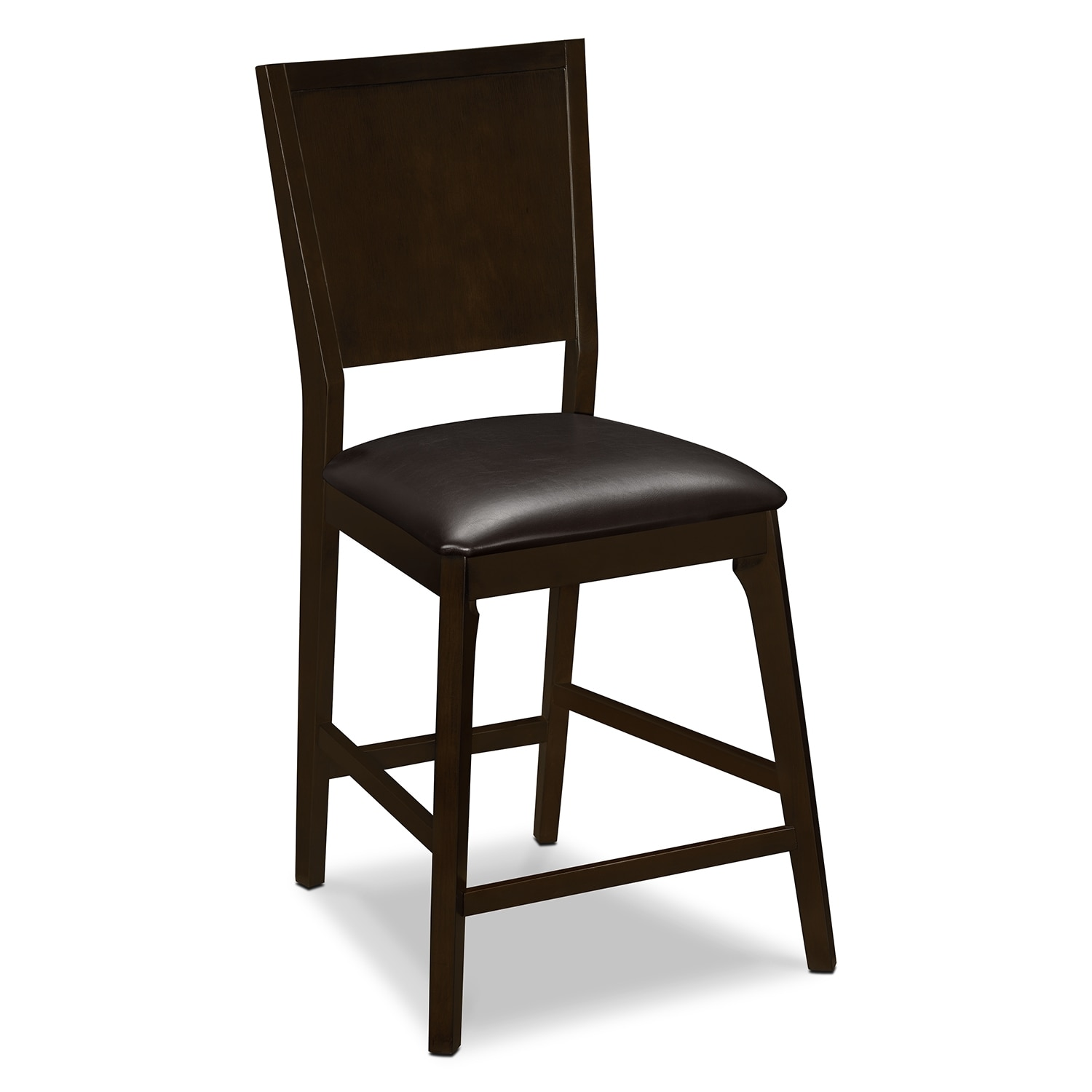 chair and stool heights barton accessories mystic counter height merlot chocolate