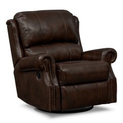 Leather Recliner Chairs On Sale Coleman Captain S Chair With Table Value City Furniture