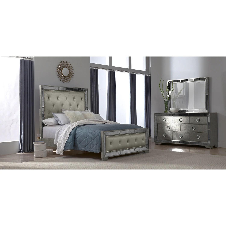 Angelina 5 Pc. Queen Bedroom